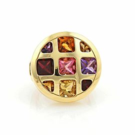 Cartier Pasha de Cartier Gem 18k Yellow Gold Ring Size 5