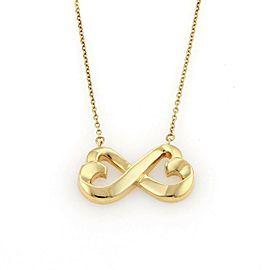 Tiffany & Co. Paloma Picasso 18k Gold Double Loving Hearts Pendant