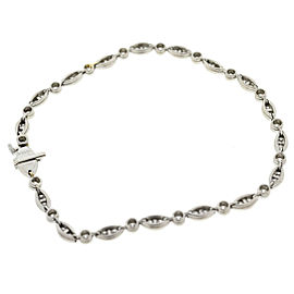 Tiffany & Co. Platinum Tiffany Jazz Diamond Bracelet