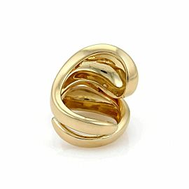 Cartier Carmelo Ying Yang 18k Yellow Gold Ring Size 50