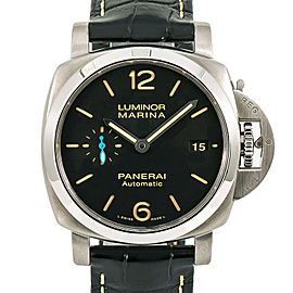 Panerai Luminor Marina 1950 PAM01312 Mens Automatic Watch Black Dial 44mm