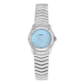 Ladies Ebel 9157F11-24225 Stainless Steel 24MM Quartz Watch