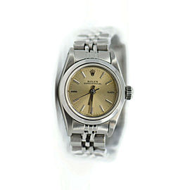 Rolex Oyster Perpetual Stainless Steel Watch 67180
