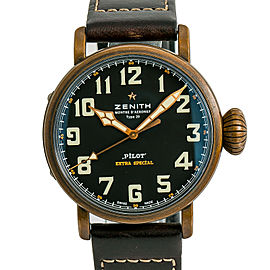 Zenith Pilot Type 20 Extra 29.2430.679 Mens Automatic Watch W/ Box & Papers 45mm