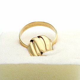 Tiffany & Co. Picasso Melody 9 Rolling Band Ring in 18k Yellow Gold Size 6