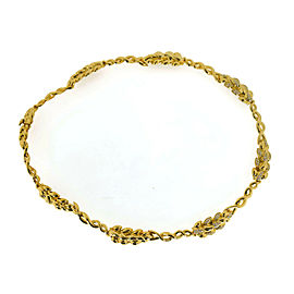 Chanel Diamond 18K Yellow Gold Necklace