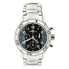Breguet Type XX Aeronavale Chronograph Stainless Steel Watch 3800