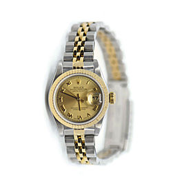 Rolex Datejust 18K/Stainless Steel Watch 69173