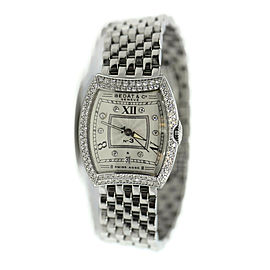 Bedat & Co No 3 Diamond Stainless Steel Watch 314
