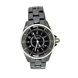 Chanel J12 Black Ceramic Watch H0682