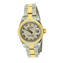 Rolex Datejust 18K/Stainless Steel Watch 79163