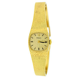 Rolex Vintage 14K Yellow Gold Watch 8133