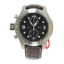 Raid Flottiglia Mas Chronograph Stainless Steel Watch CHDMSWW