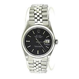 Rolex Datejust Stainless Steel Watch 1601