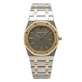 Audemars Piguet Royal Oak 56175SA Men's Quartz 18K Gold Two Tone Watch 33mm