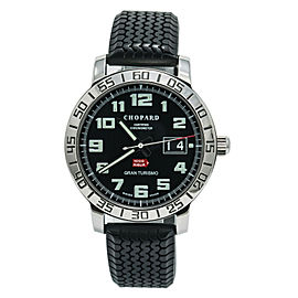 Chopard Mille Miglia Gran Turismo 8995 Men's Auromatic Black Dial Watch SS 40mm
