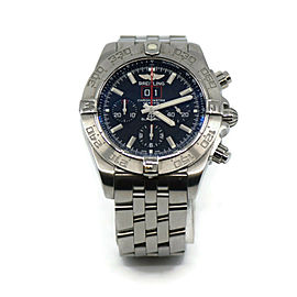 Breitling Chronomat Blackbird Stainless Steel Watch A44360
