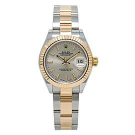 Rolex Datejust 279173 Women's Automatic 18K Two Tone Watch W/Box & Paper 28mm