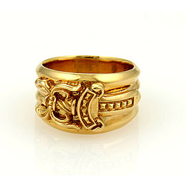 Chrome Hearts 22k Gold Dagger Ring Rare!