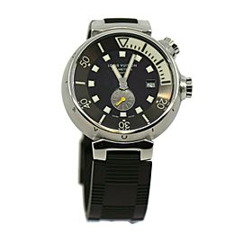 Louis Vuitton Tambour Diving Stainless Steel Watch Q1031
