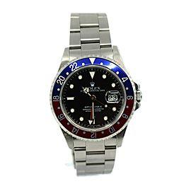 Rolex GMT-Master II Pepsi Stainless Steel Watch 16710