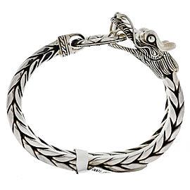 John Hardy Legends Naga Sterling Silver Large Dragon Men's Bracelet