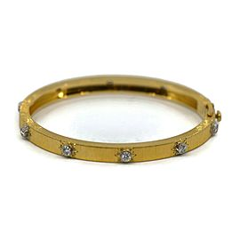 Buccellati Diamond 18K Yellow Gold Bracelet
