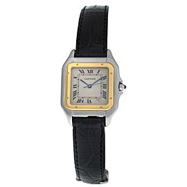 Ladies Cartier Panthere 1100 Stainless Steel Gold 26mm Quartz Watch