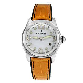 Unisex Corum Bubble 39.150.20 0F02 Stainless Steel Date Quartz 35MM Watch