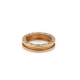 Bvlgari B.zero1 One Band Ring in 18k Rose Gold Size 52 US 6.5