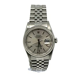Rolex Datejust Stainless Steel Watch 16234