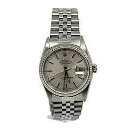 Rolex Datejust Stainless Steel Watch 16234