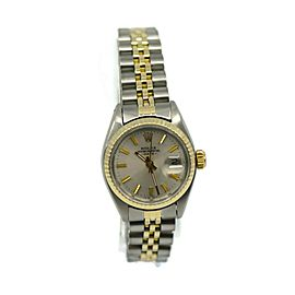 Rolex Oyster Perpetual Date 18K/Stainless Steel Watch 6917