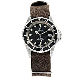 Tudor Submariner Prince Oysterdate 79090 40mm Mens Watch