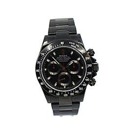 Rolex Daytona Black PVD Stainless Steel Watch 116520