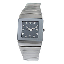 New Unisex Rado Sintra R13432212 Ceramic 31MM Date Quartz $2,300 Watch