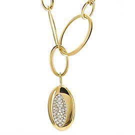 Robert Coin 18k Rose Gold Capri Plus Diamond Necklace