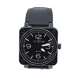 Bell & Ross Aviation Ceramic Stainless Steel Watch BR01-92