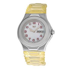 Ladies TechnoMarine Techno Sport TMAX07 MOP Day Date Quartz 38MM Watch