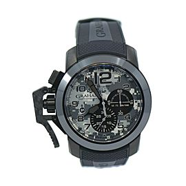 Graham Chronofighter Navy Seal Chronograph Stainless Steel Watch 2CCAU.S03A.K92N