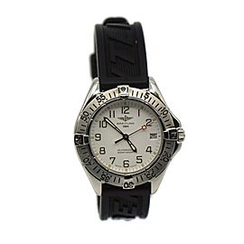 Breitling Colt Automatic Stainless Steel Watch A17035