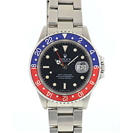 Rolex 16700 GMT-Master Pepsi Stainless Steel Automatic Watch