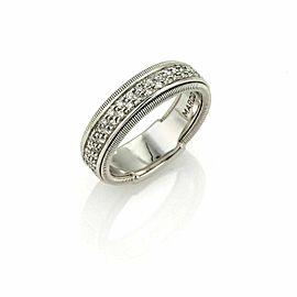 Marco Bicego GOA Diamond 18k White Gold Band Ring