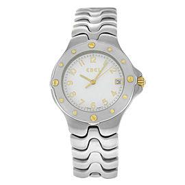 Unisex Ebel Sportwave 6187631 Stainless Steel Quartz 36MM Watch
