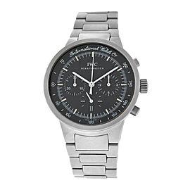 IWC Schaffhausen GST IW372701 Chronograph Date Titanium 36MM Quartz Watch