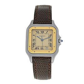 Ladies' Cartier Panthere 18K Yellow Gold Steel Date Quartz 26MM Watch