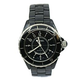 Chanel J12 Black Ceramic Watch H0685