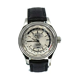Ball Trainmaster Worldtime Stainless Steel Watch GM2020D-LL4CJ-SL