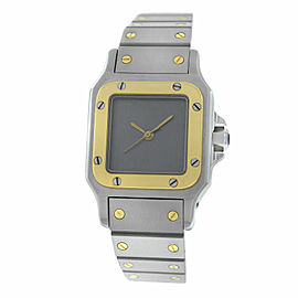 Ladies Cartier Galbee 24MM Steel 18K Yellow Gold Automatic Watch