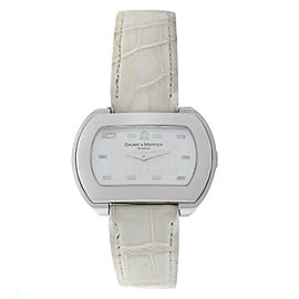 Ladies Baume & Mercier Hampton 65469 Stainless Steel MOP Quartz Watch